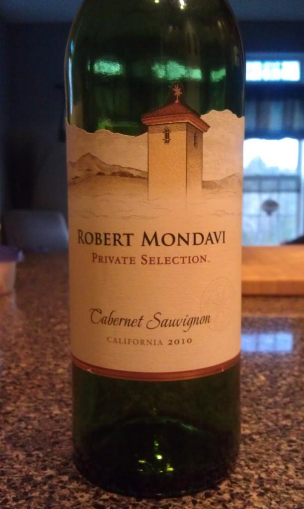 2010 Robert Mondavi Private Selection Cabernet Sauvignon