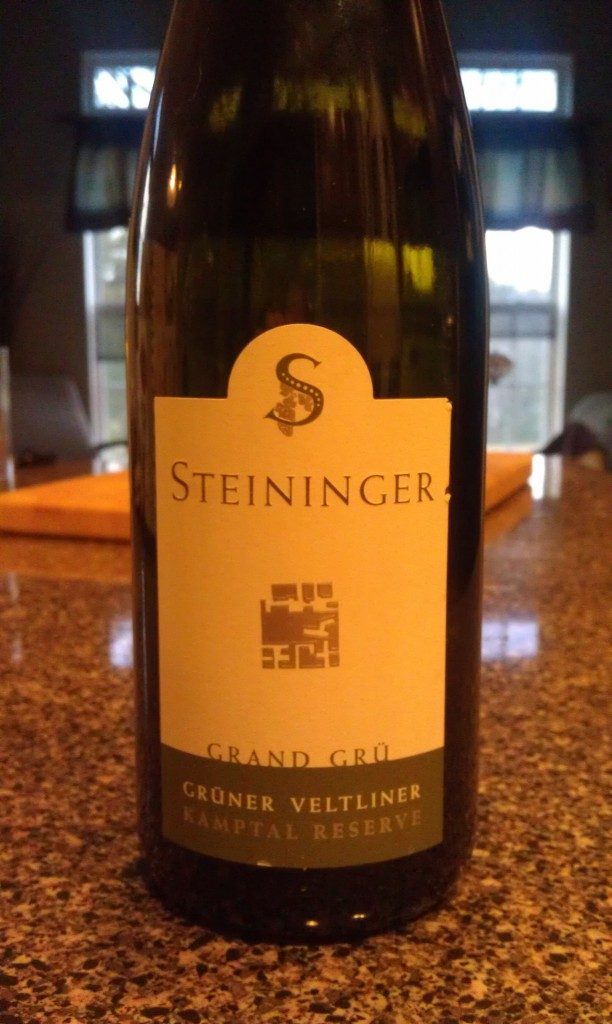 2009 Steininger Gruner Veltliner Grand Cru Kamptal Reserve