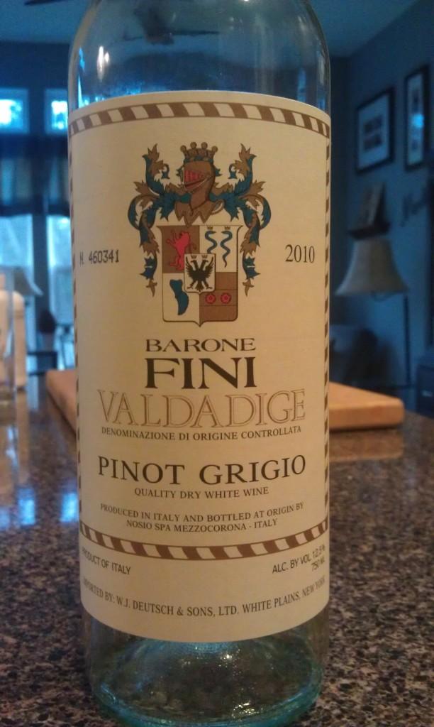 2010 Barone Fini Pinot Grigio