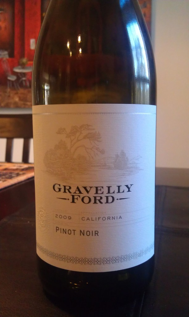 2009 Gravelly Ford Pinot Noir