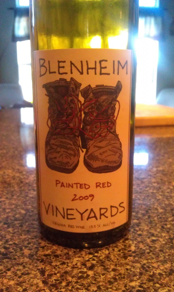 2009 Blenheim Vineyards Painted Red