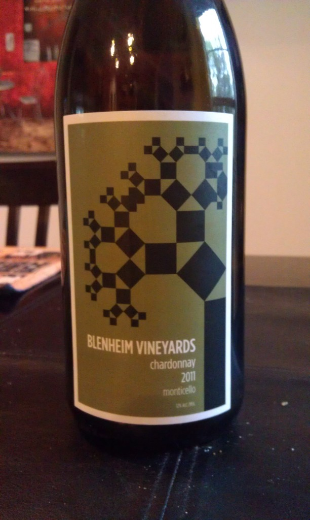 2011 Blenheim Vineyards Chardonnay