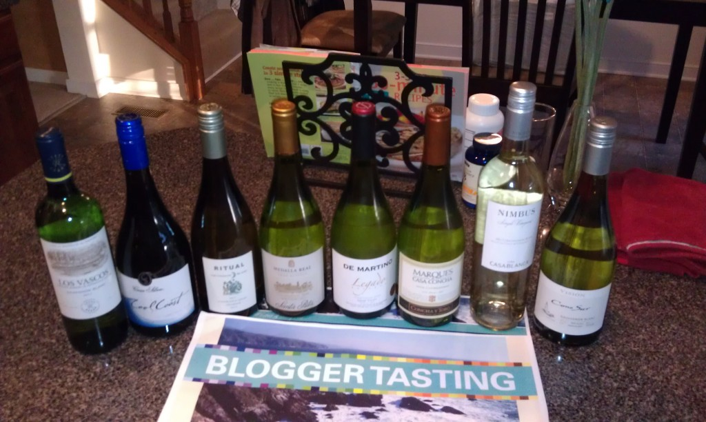 Wines of Chile Coastal Whites Tasting