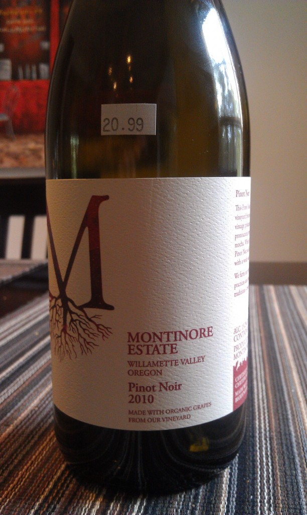 2010 Montinore Estate Pinot Noir