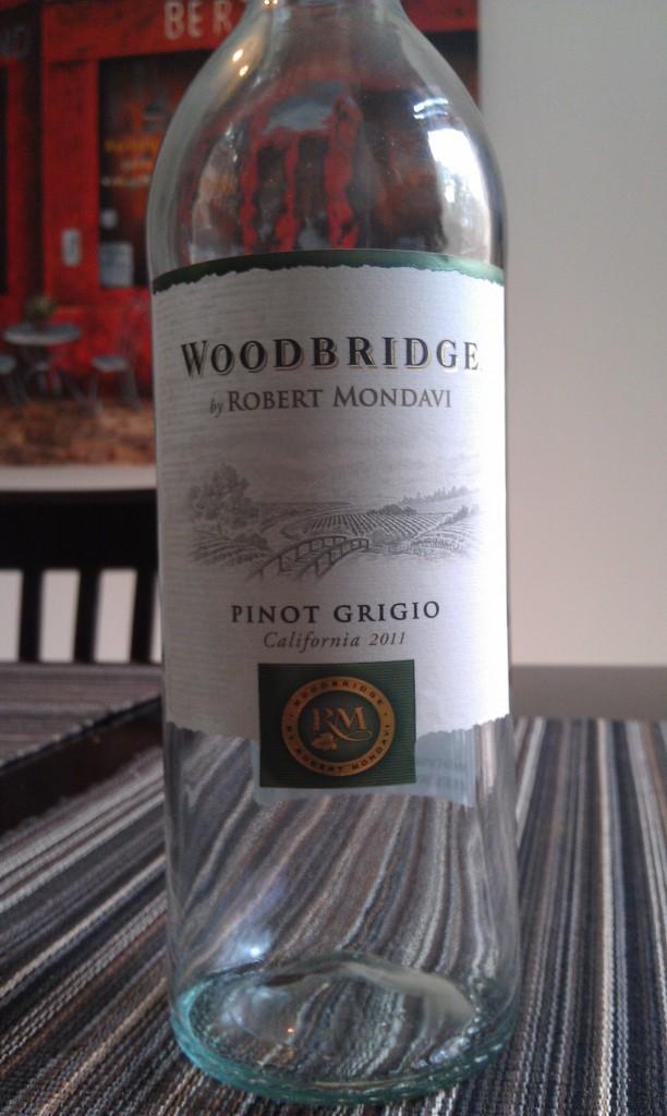 2011 Woodbridge by Robert Mondavi Pinot Grigio