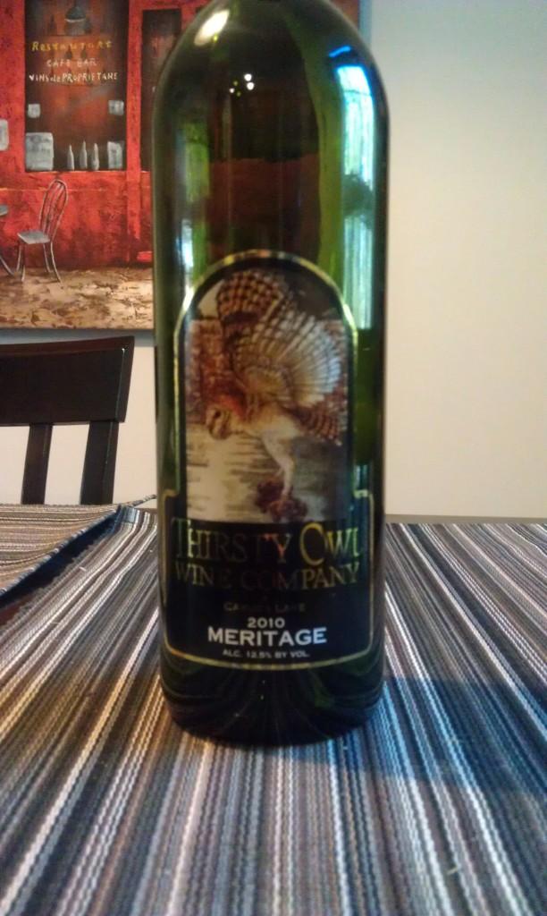 2010 Thirsty Owl Wine Company Meritage