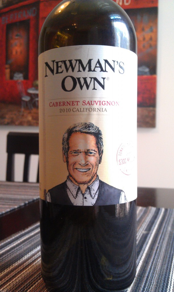 2010 Newman's Own Cabernet Sauvignon