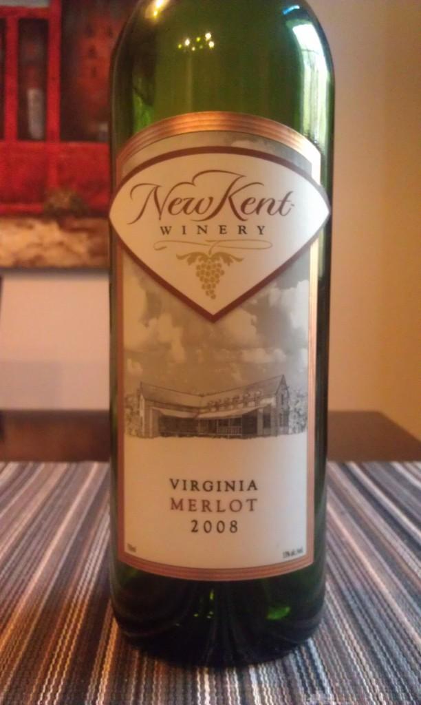 2008 New Kent Winery Merlot