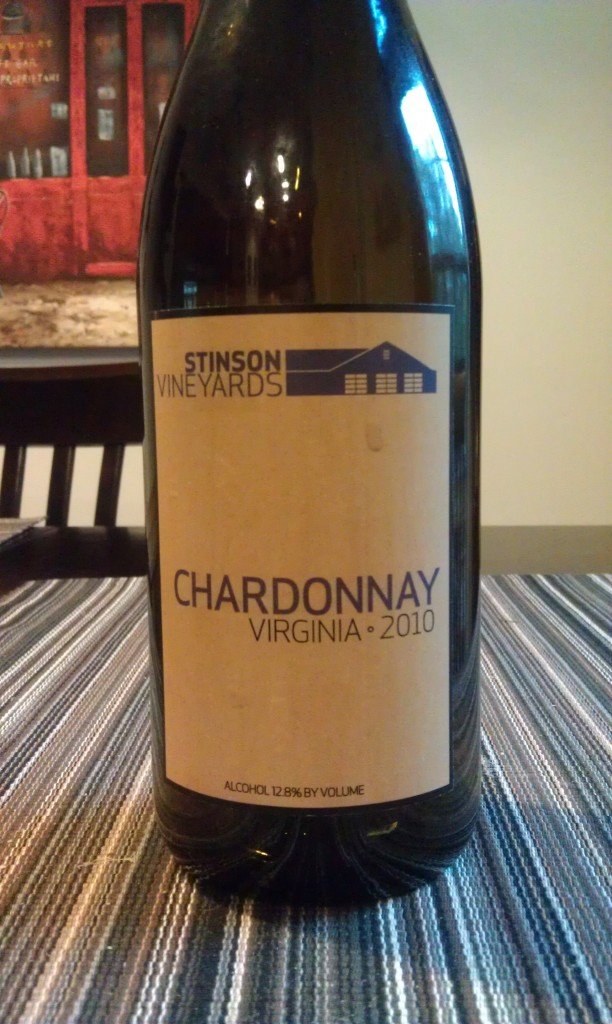 2010 Stinson Vineyards Chardonnay