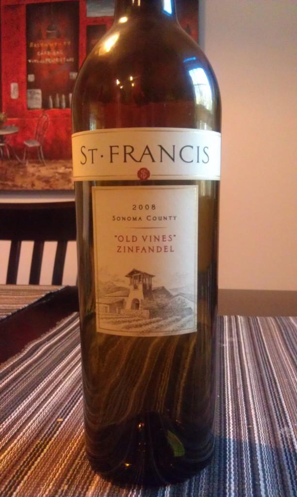 2008 St Francis Sonoma County Old Vines Zinfandel