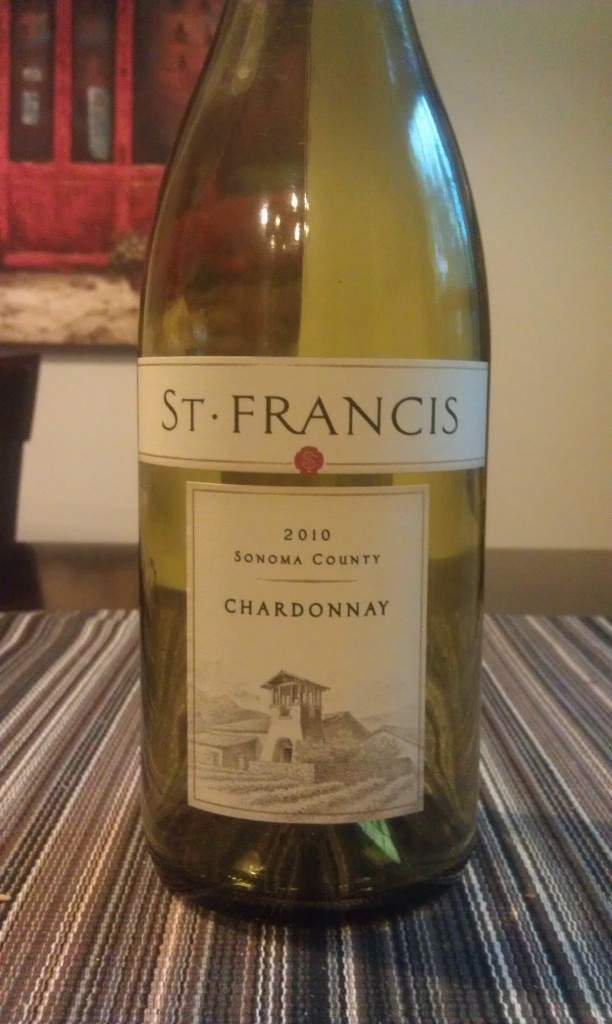 2010 St Francis Sonoma County Chardonnay