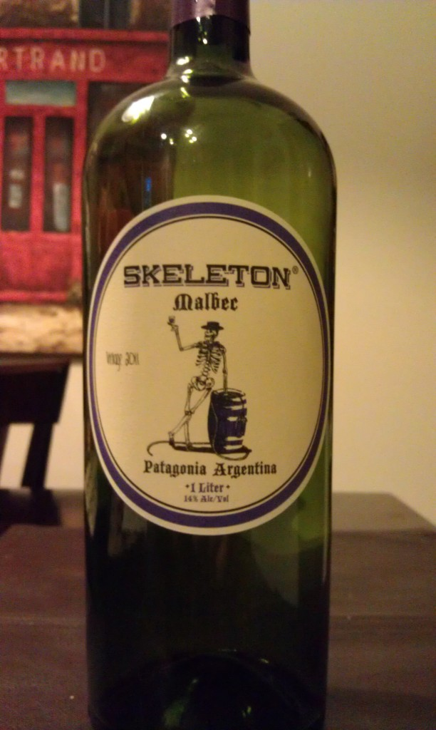 2011 Skeleton Wine Malbec