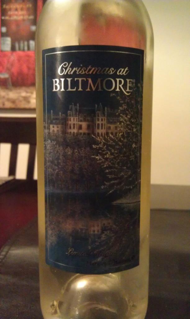 2012 Christmas of Biltmore White Wine