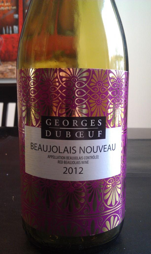 2012 George Duboeuf Beaujolais Nouveau
