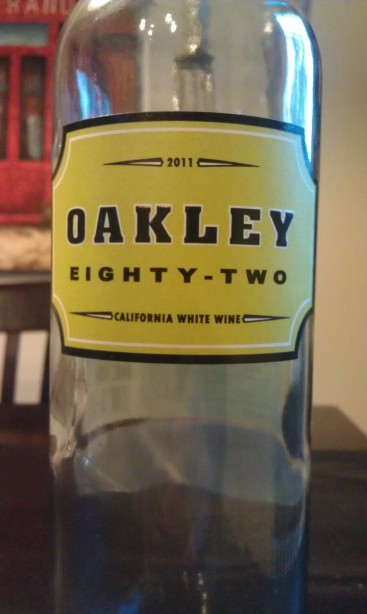 2011 Oakley 82 California White Wine