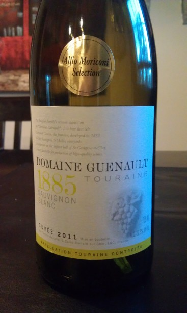 2011 Domaine Guenault Touraine