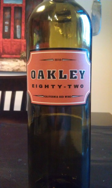 2010 Oakley Eighty-Two Red Wine