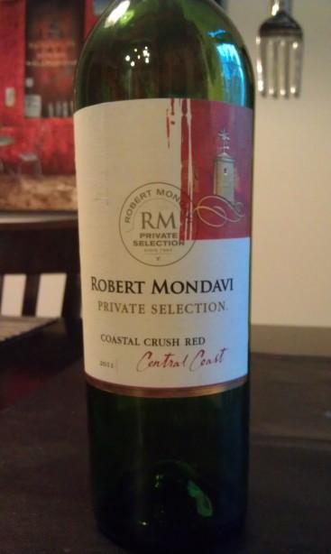 2011 Robert Mondavi Private Selection Coastal Crush Red
