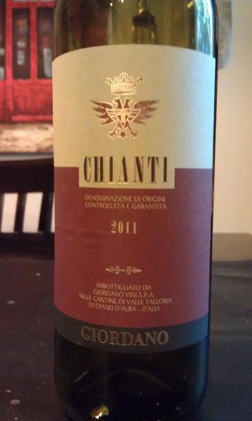 2011 Giordano Chianti DOCG