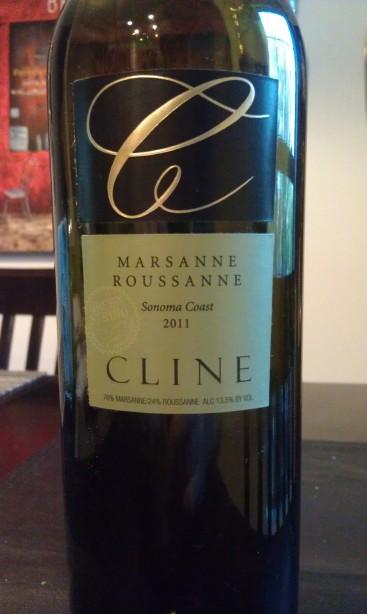 2011 Cline Marsanne Roussanne
