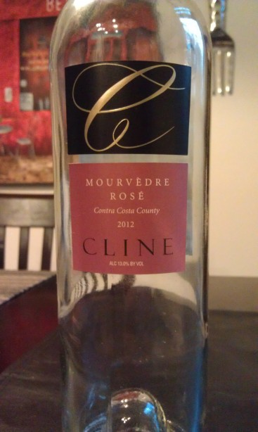 2012 Cline Mourvedre Rose