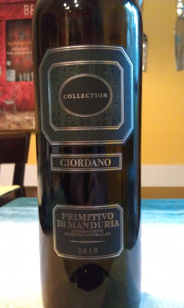 2010 Giordano Primitivo di Manduria