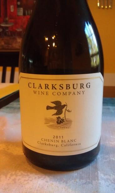 2011 Clarksburg Wine Company Chenin Blanc