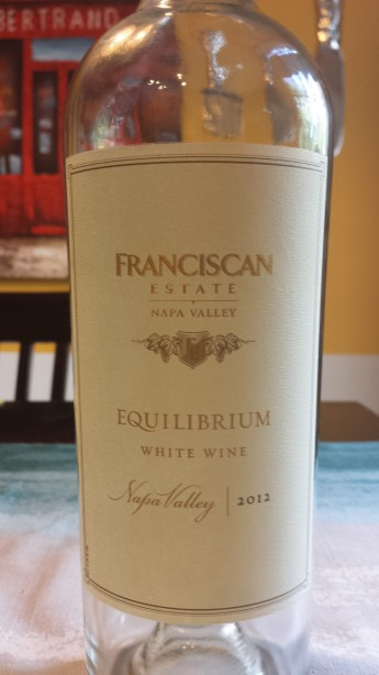 2012 Franciscan Estate Equilibrium White Blend