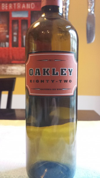 2011 Oakley Eighty-Two Red Wine