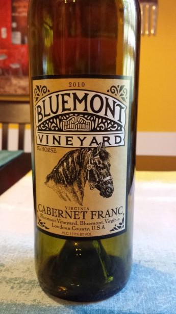 2010 Bluemont Vineyards