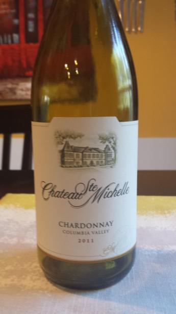 2011 Chateau Ste Michelle Chardonnay