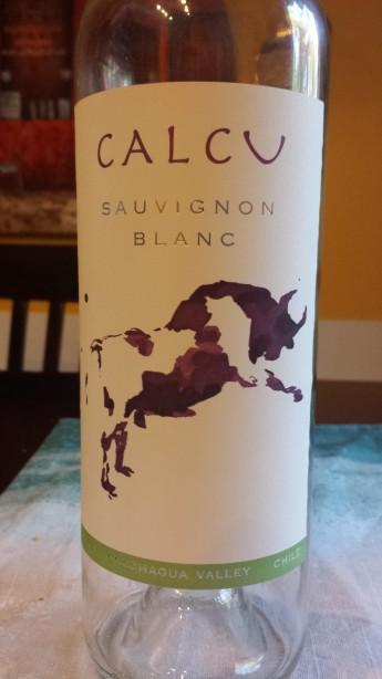 2012 Calcu Sauvignon Blanc