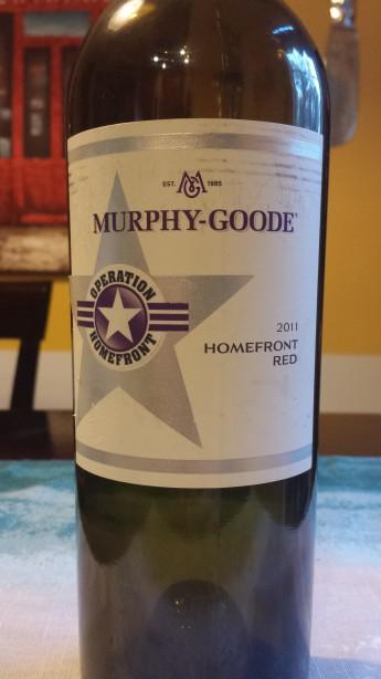 2011 Murphy-Goode Homefront Red