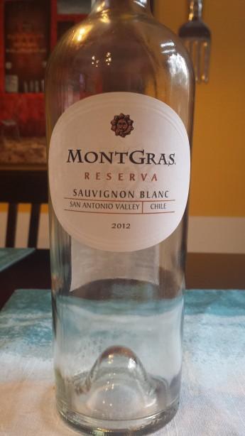 2012 MontGras Sauvignon Blanc Reserva