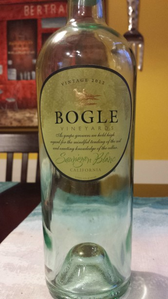 2012 Bogle Vineyards Sauvignon Blanc