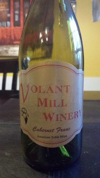 Volant Mill Winery Cabernet Franc