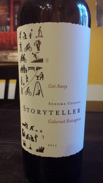 2011 Storyteller Cabernet Sauvignon