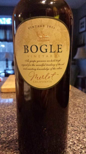 2011 Bogle Vineyards Merlot