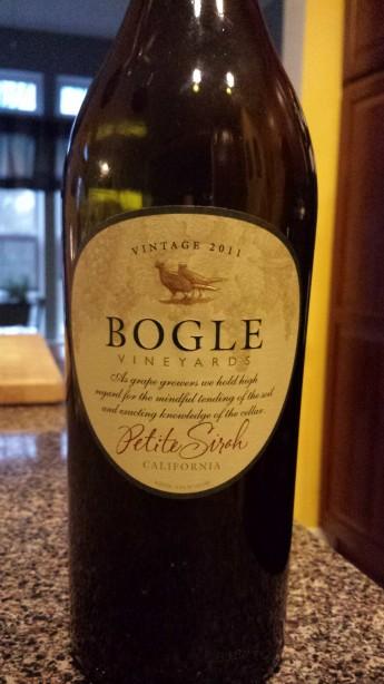 2011 Bogle Vineyard Petite Sirah