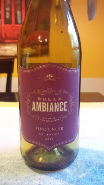 2012 Belle Ambiance Pinot Noir