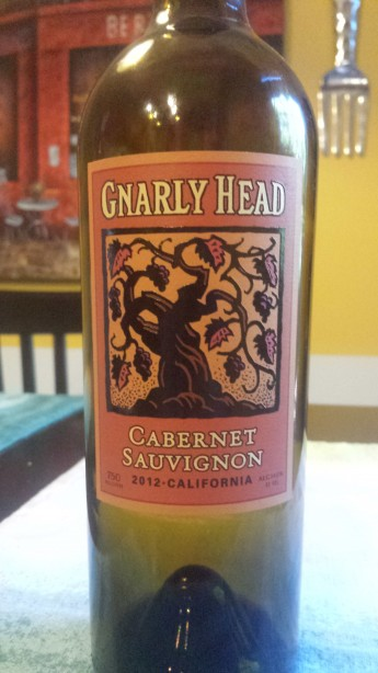 2012 Gnarly Head Cabernet Sauvignon