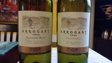 2013 Arrogant Frog Whites