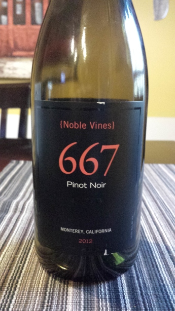 2012 Noble Vines 667 Pinot Noir