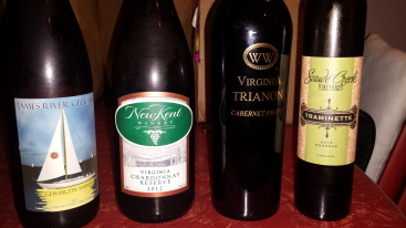 October 2014 Virginia Wine Chat Lineup