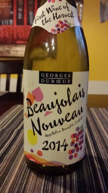 2014 Georges Duboeuf Beaujolais Nouveau