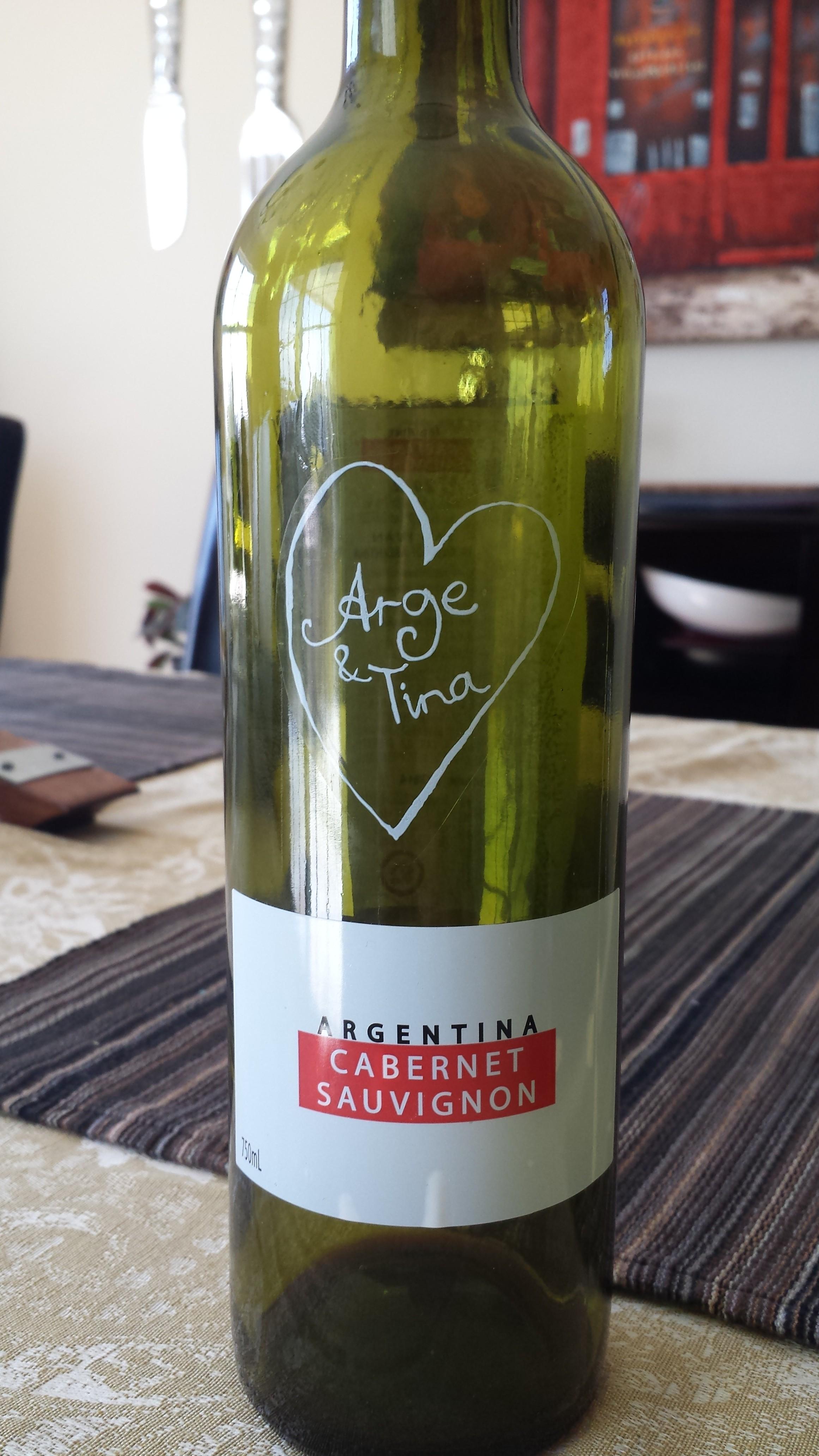 2012 Arge & Tina Cabernet Sauvignon