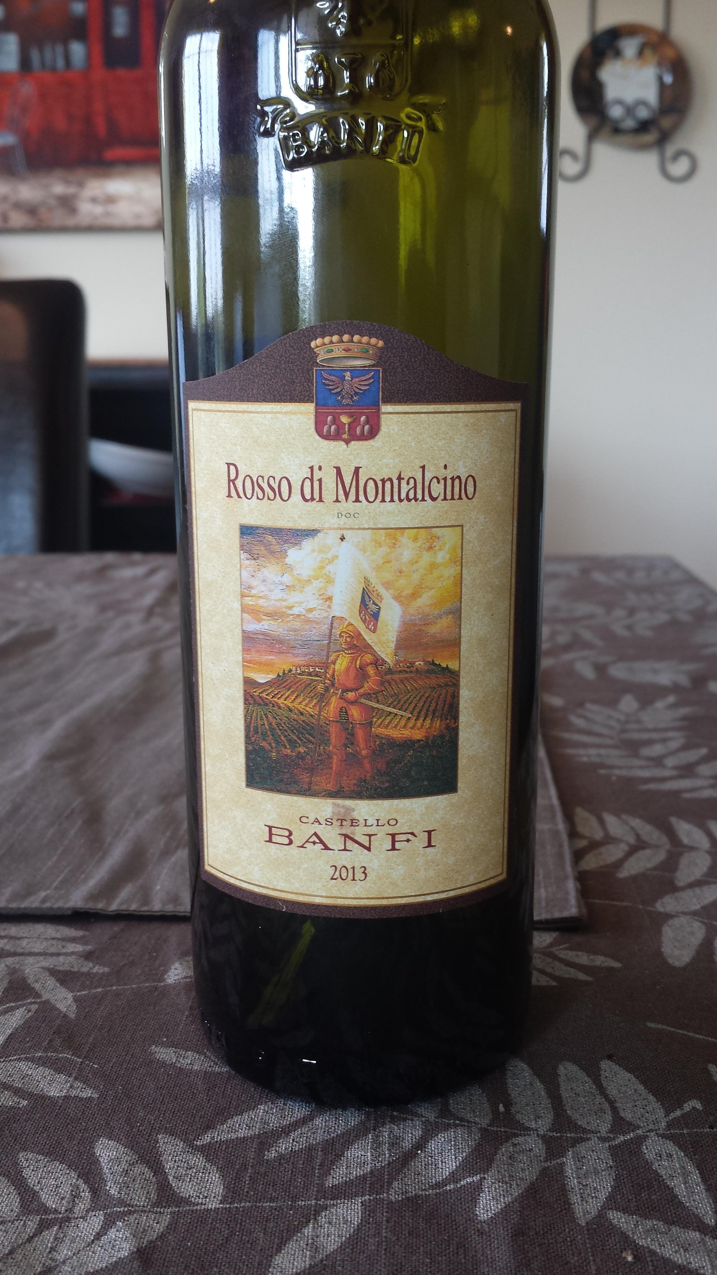 2013 Banfi Rosso di Montalcino DOC