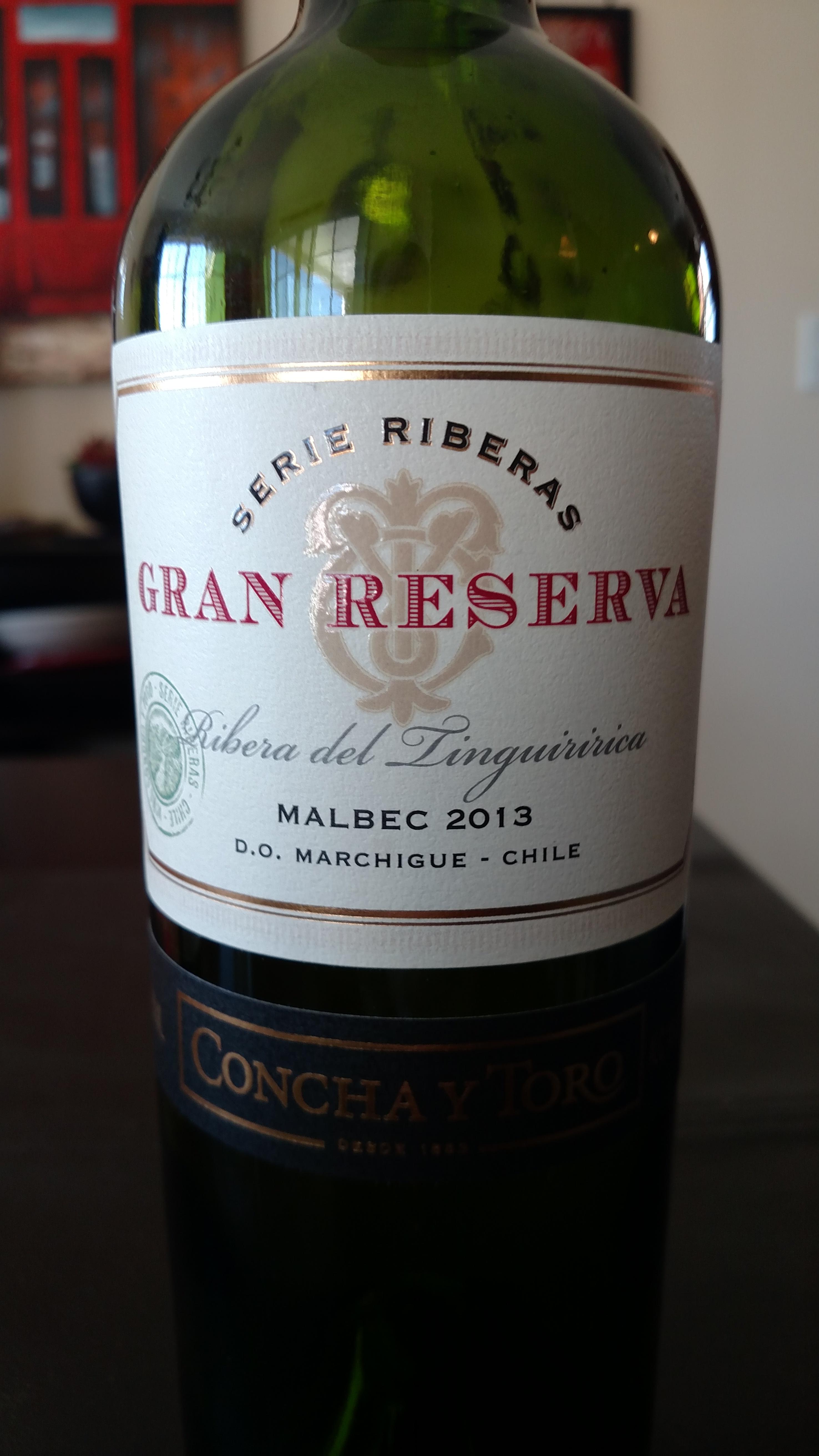 2013 Gran Reserva Serie Reserva Malbec