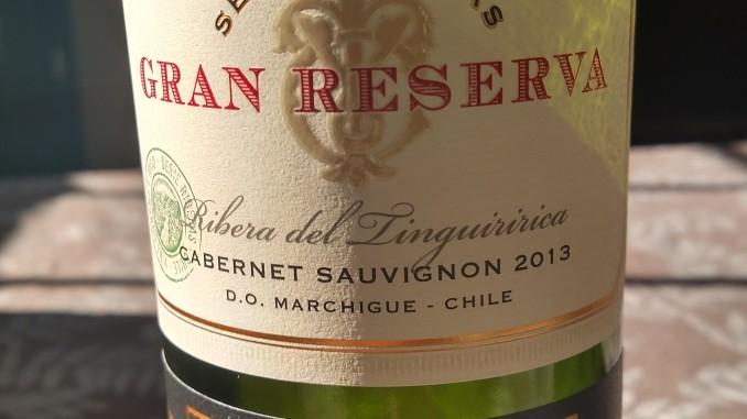2013 Gran Reserva Serie Riberas Cabernet Sauvignon