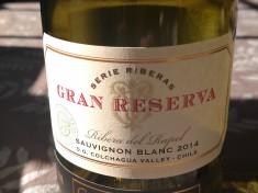 2014 Gran Reserva Serie Riberas Sauvignon Blanc